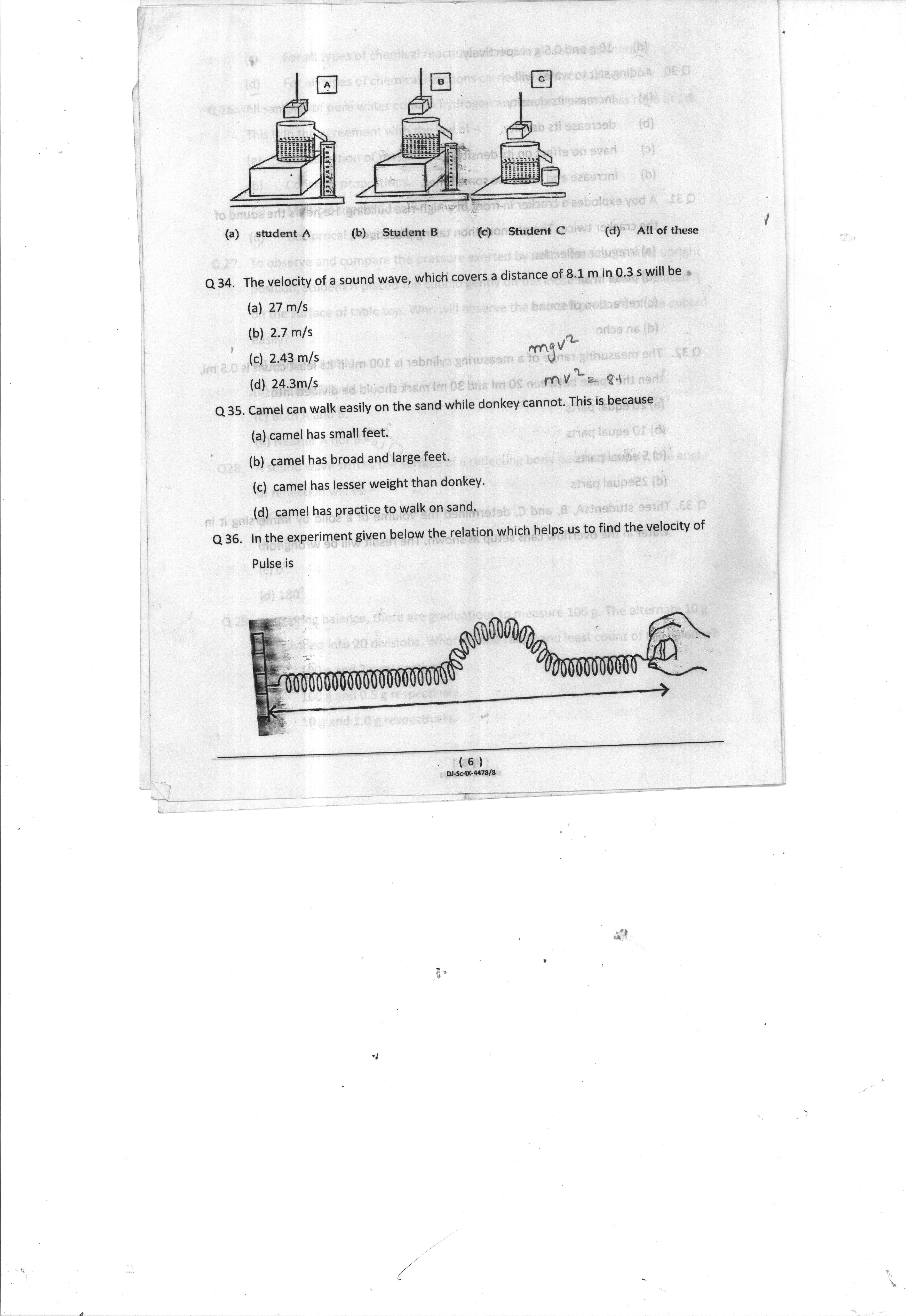 English Sample Question Paper For Class 9 Cbse Fa3