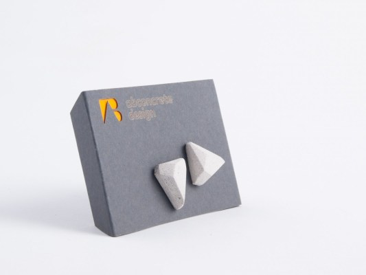 Concrete design business gift idea for women partners