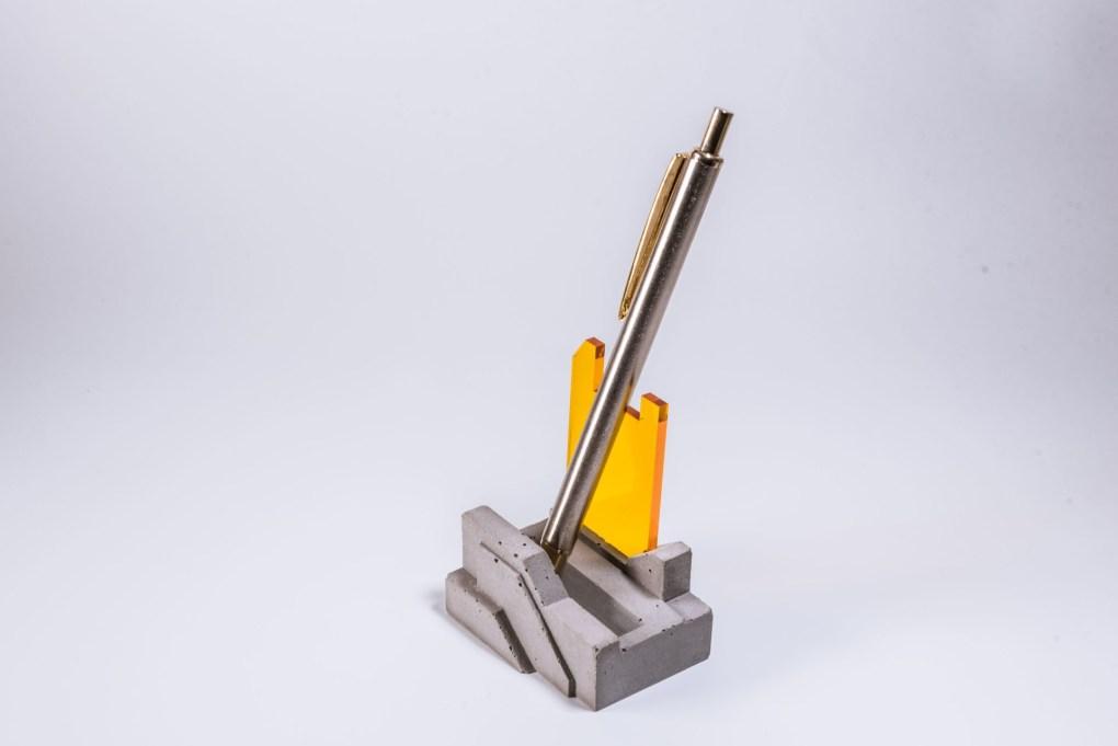 Archicon concrete pen holder office design gift