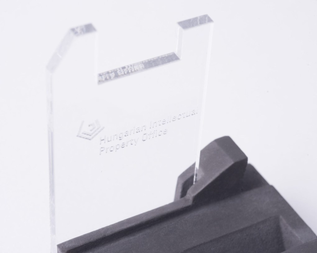 Branded pen holder as a gift for institutions