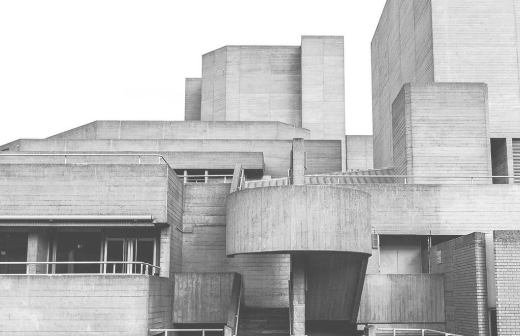 Brutalist archtecture London Hayward gallery