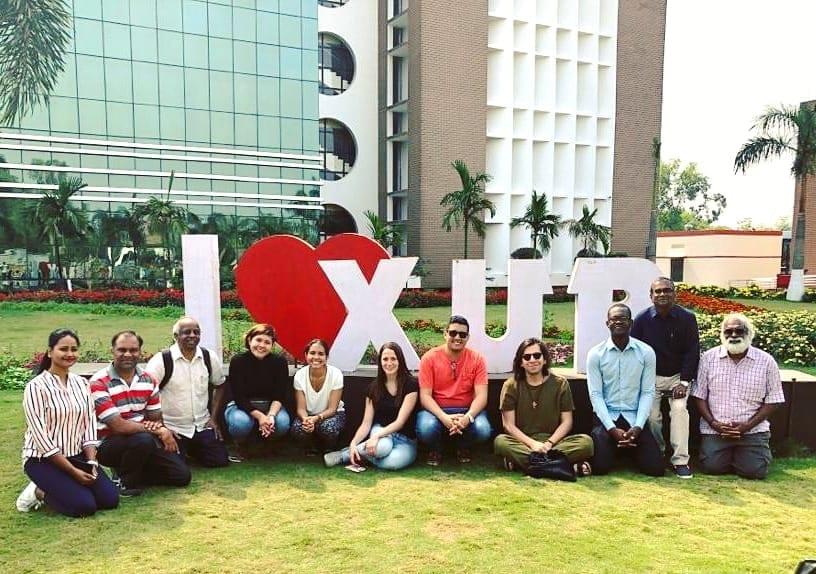 image of XIM university campus