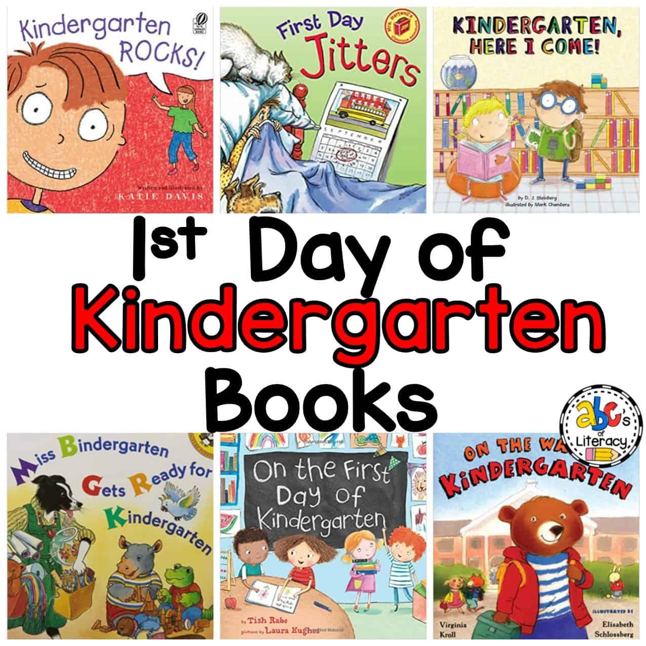 10 Books About Starting Kindergarten