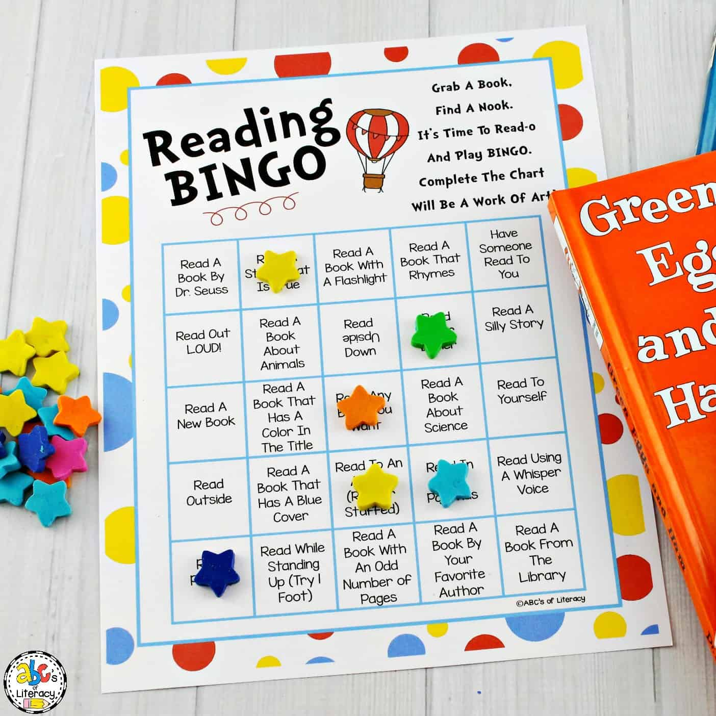 Celebrate Reading Month With This Fun Reading Bingo