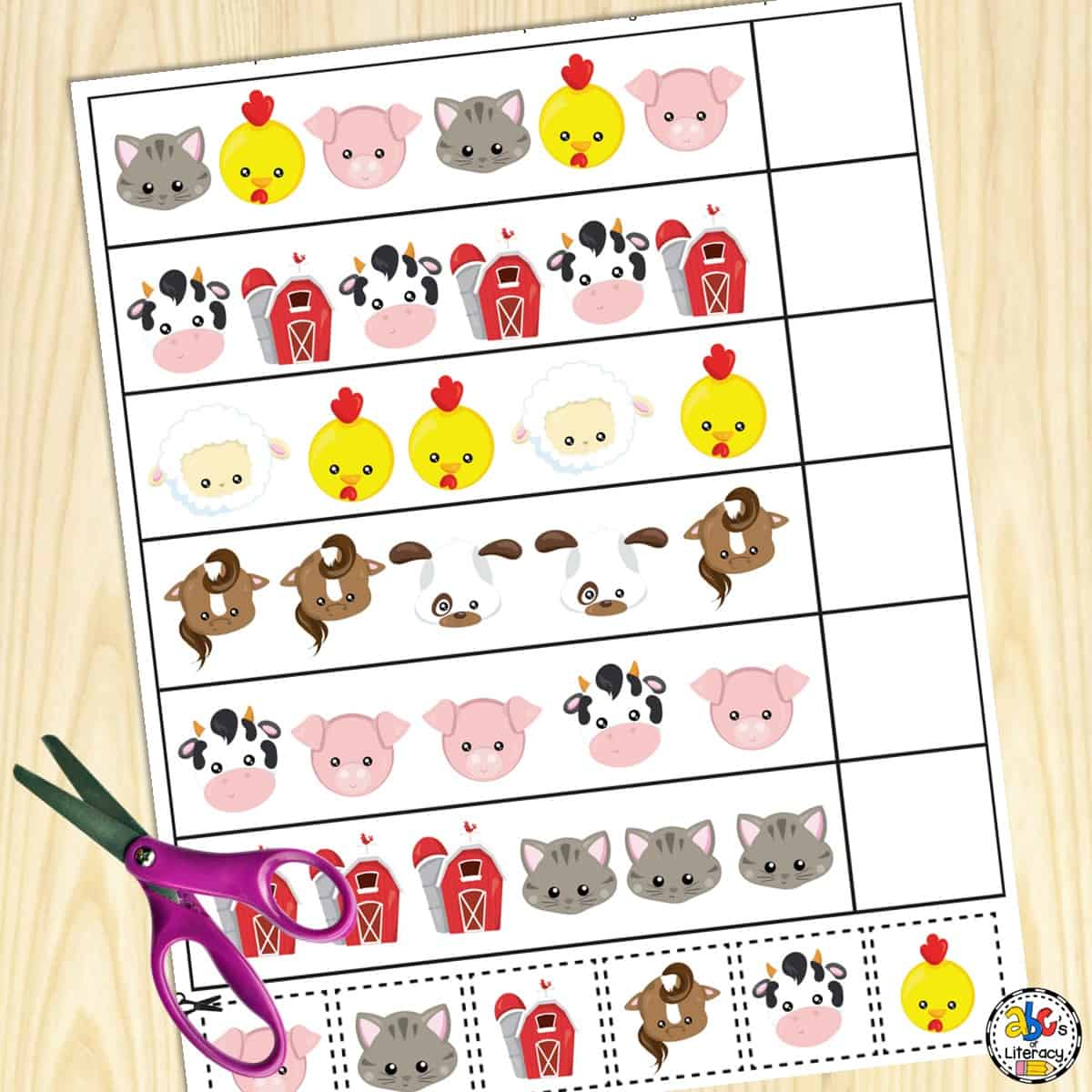 Farm Preschool Worksheets Free Printables For Preschools