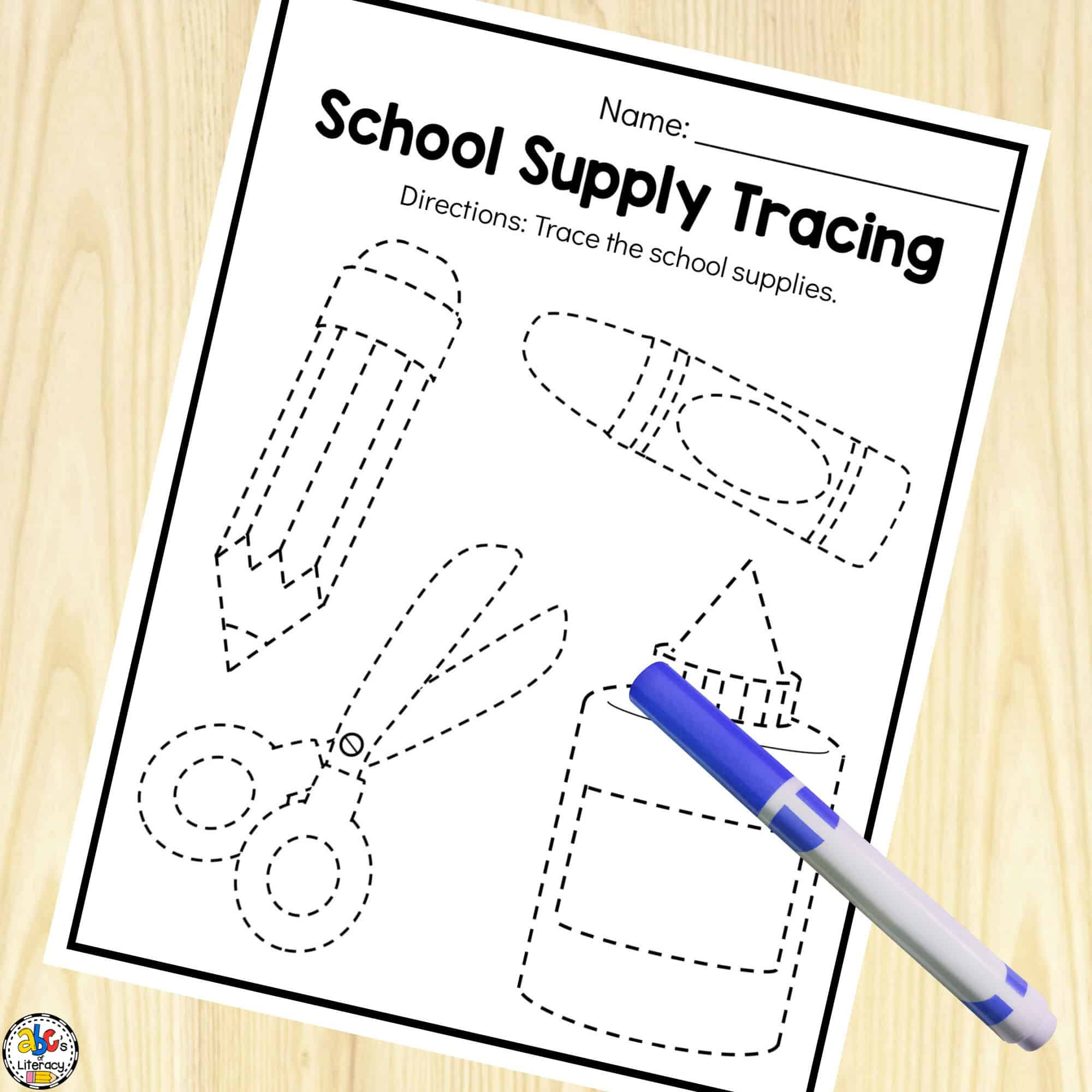 hight resolution of Back-to-School Preschool Worksheets For 3-5 Year Olds