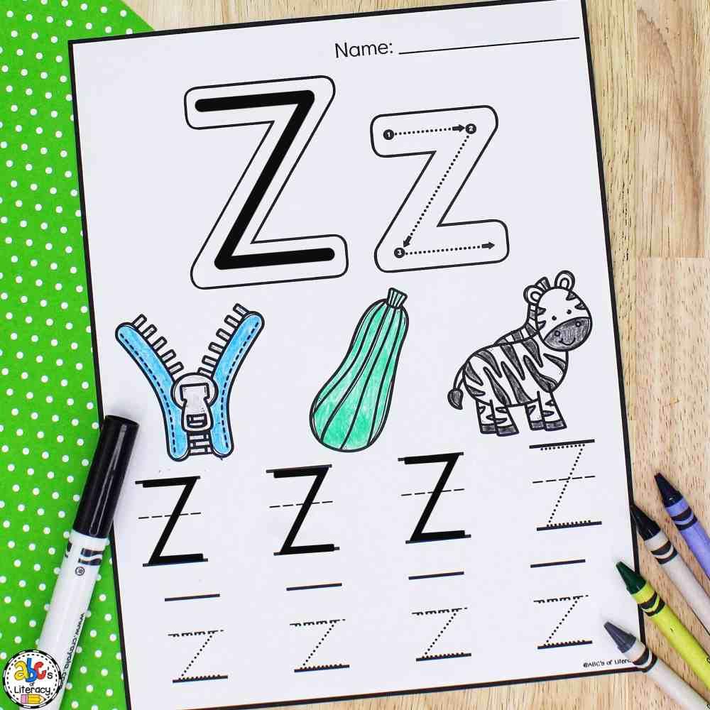 medium resolution of Letter Tracing Worksheets: Free Printable Preschool Worksheets