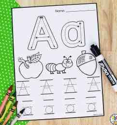 Letter Tracing Worksheets: Free Printable Preschool Worksheets [ 2413 x 2413 Pixel ]