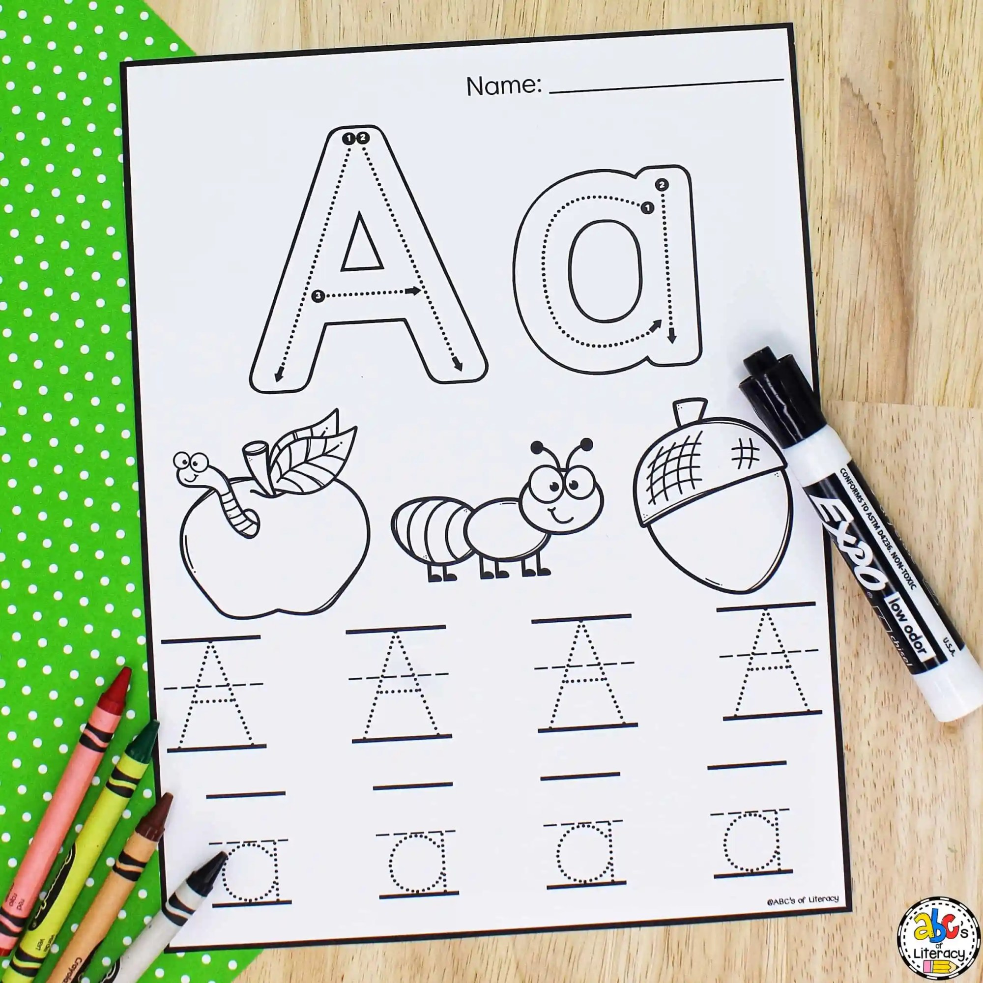 hight resolution of Letter Tracing Worksheets: Free Printable Preschool Worksheets