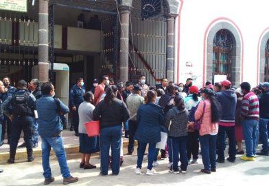 Alcalde de Tlaltelulco no paga finiquitos de expolicías, desacata orden del Congreso