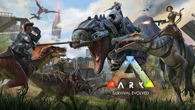 game sinh tồn hay ARK: Survival Evolved