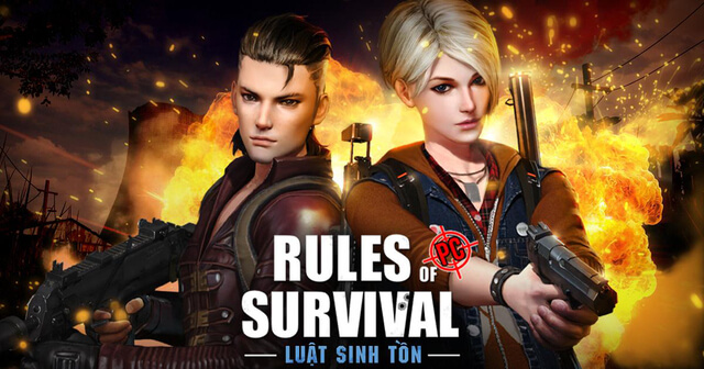 game sinh tồn hay Rules of Survival