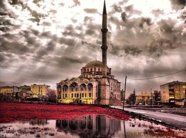 Kumburgaz : Mezquita : Reflejos