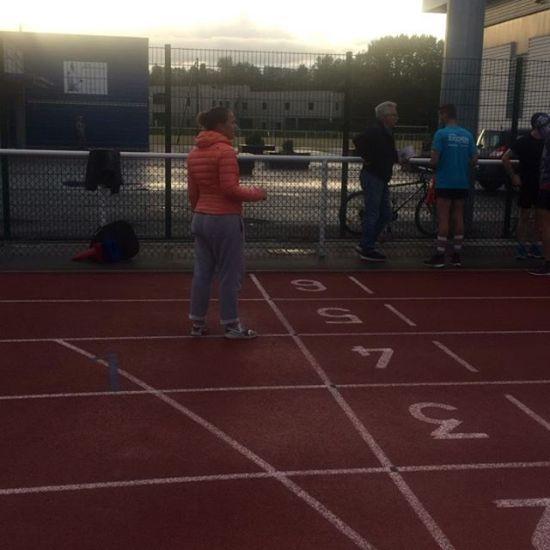 Échauffement des minimes #athletisme #filles #entrefilles #motivee - from Instagram