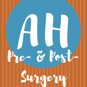 pre- and post- abdominal surgery
