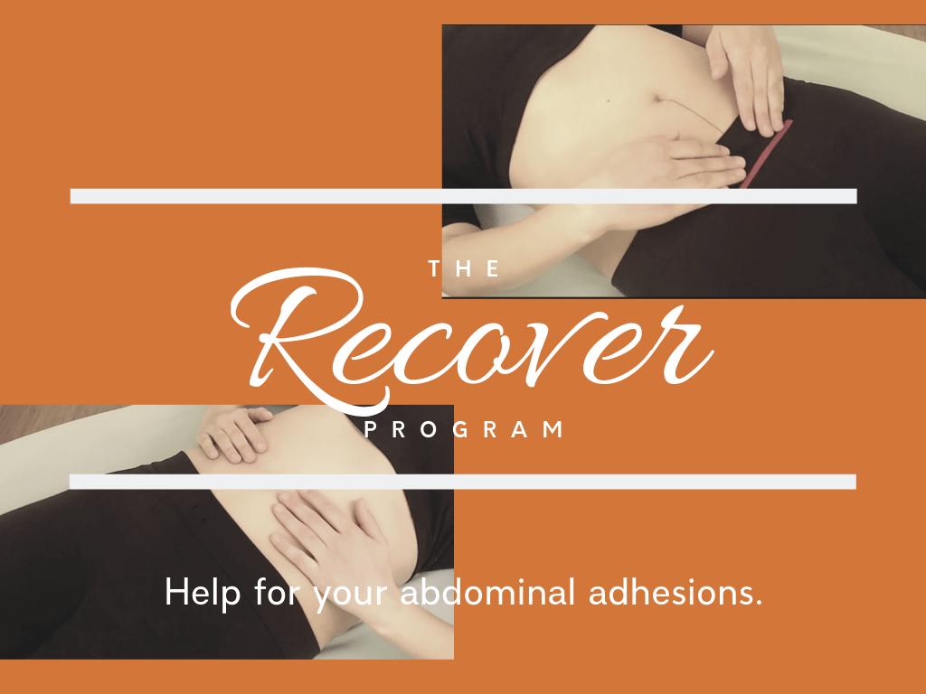 recover abdominal adhesions program