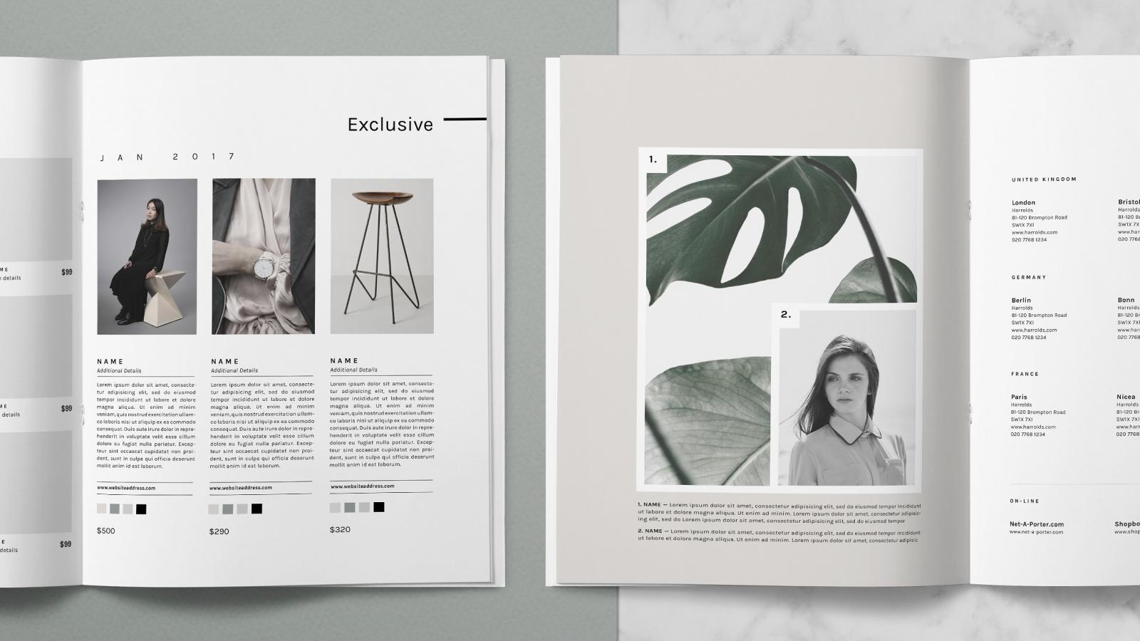 editorial design  Abduzeedo