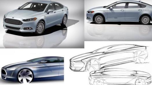 Car Design: 2013 Ford Fusion Energi