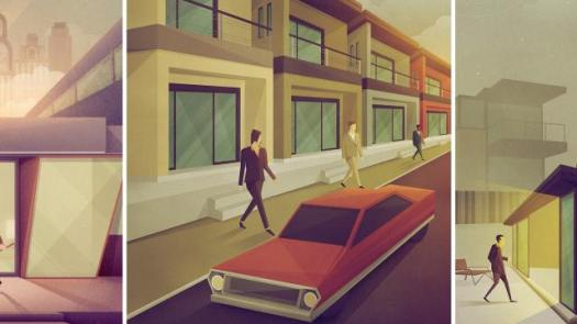 Super Stylish Illustrations by Justin Mezzell