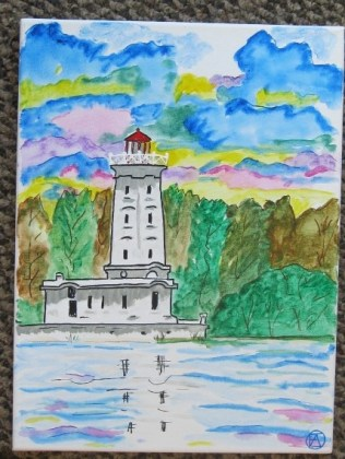 Point Abino watercolors (1)