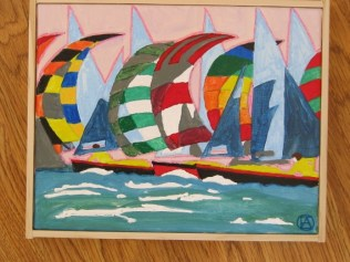 Spinnakers painting (2)