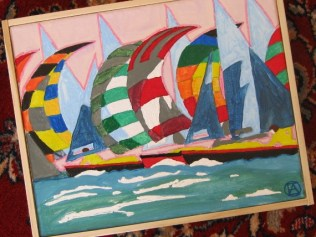 Spinnakers painting (4)