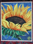 SUNFLOWER PAINTING 004 (428x570)