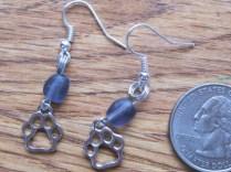 Paw prints earrings (7)