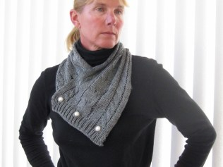 CABLED SCARF (8)