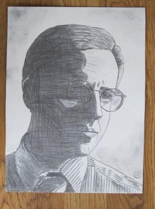 Mike Tuggle Pencil Sketch (2)