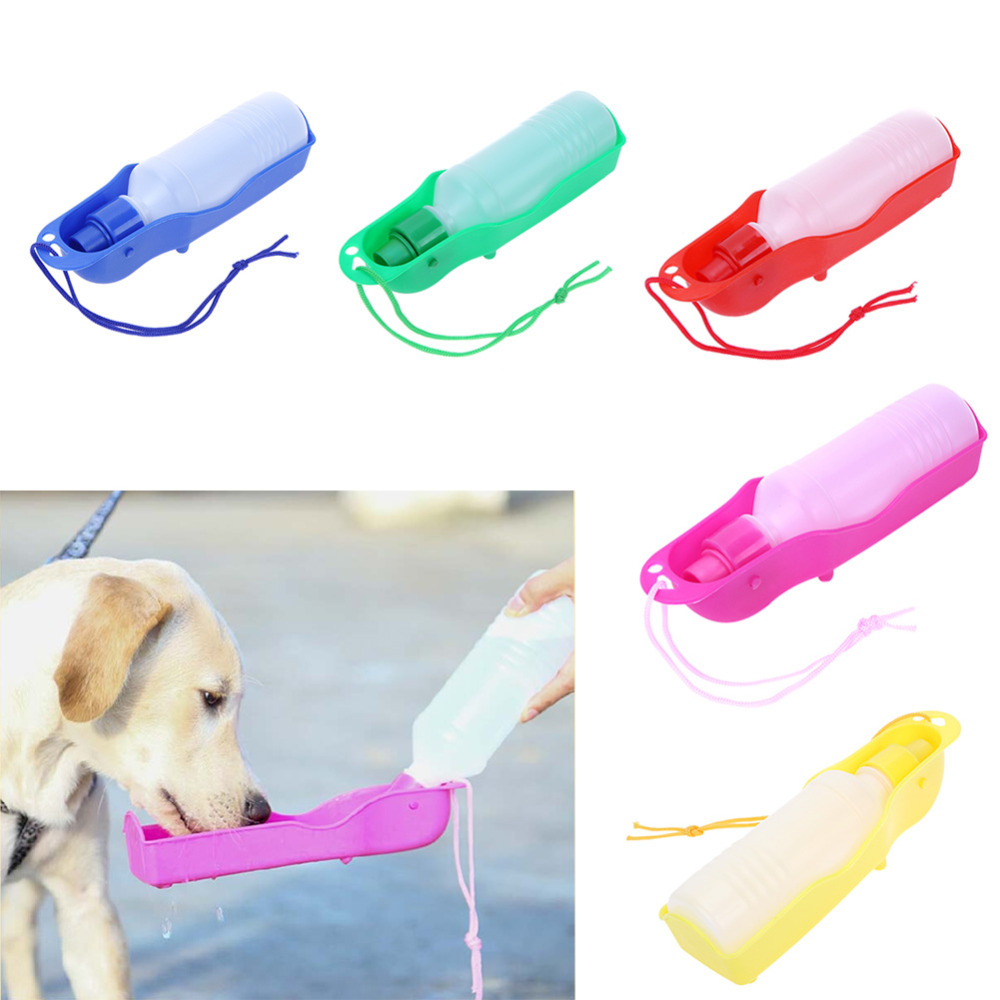 Portable Dog Water Bowl >> Portable Dog Water Bowl Travel Water Bottle For Dogs