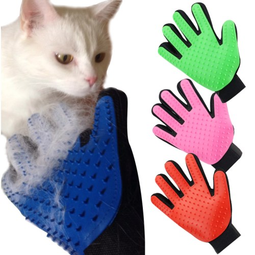 Deshedding Cleaning Glove for Cat