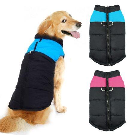 Dog's Waterproof Zipper Vest