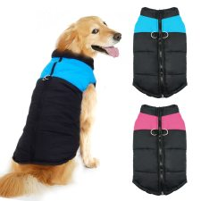 Dog's Waterproof Zipper Vest
