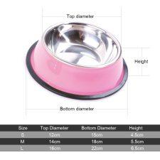 Color Non-slip Food Bowl