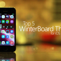 Winter themes app for your iphone