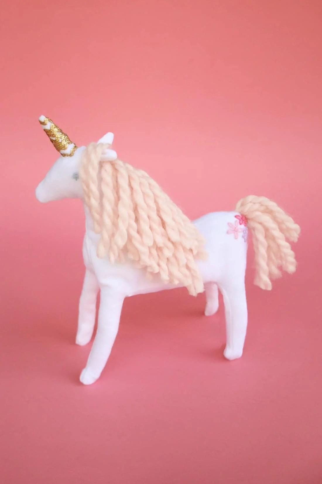 Unicorn Plush Pattern : unicorn, plush, pattern, Unicorn, Plush, Beautiful