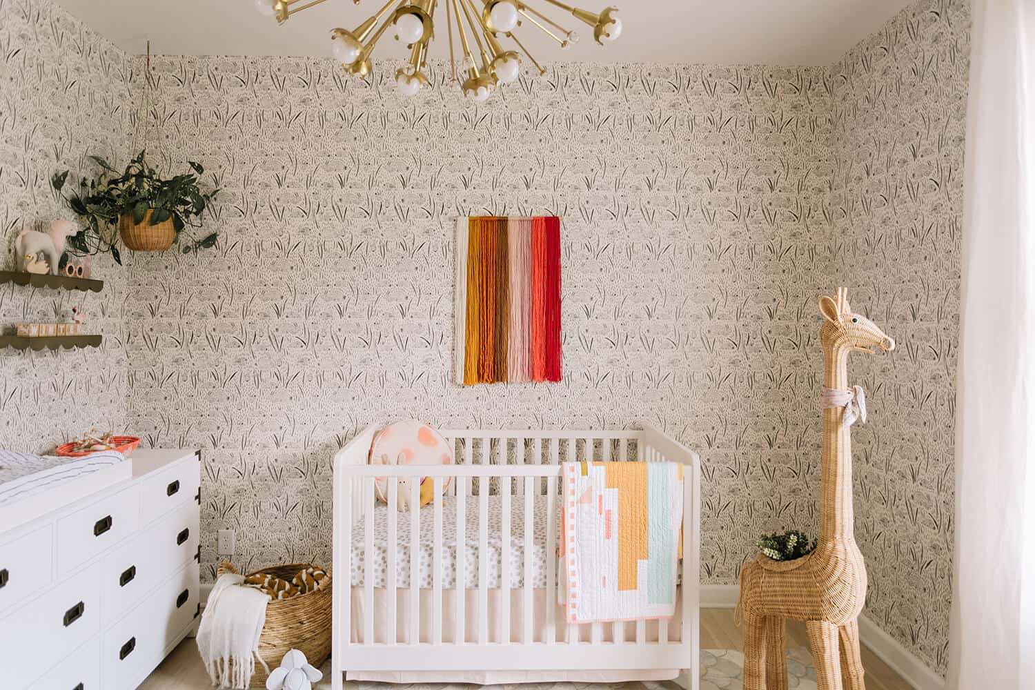 Elsie's Nursery Tour (and Baby Name!)  A Beautiful Mess