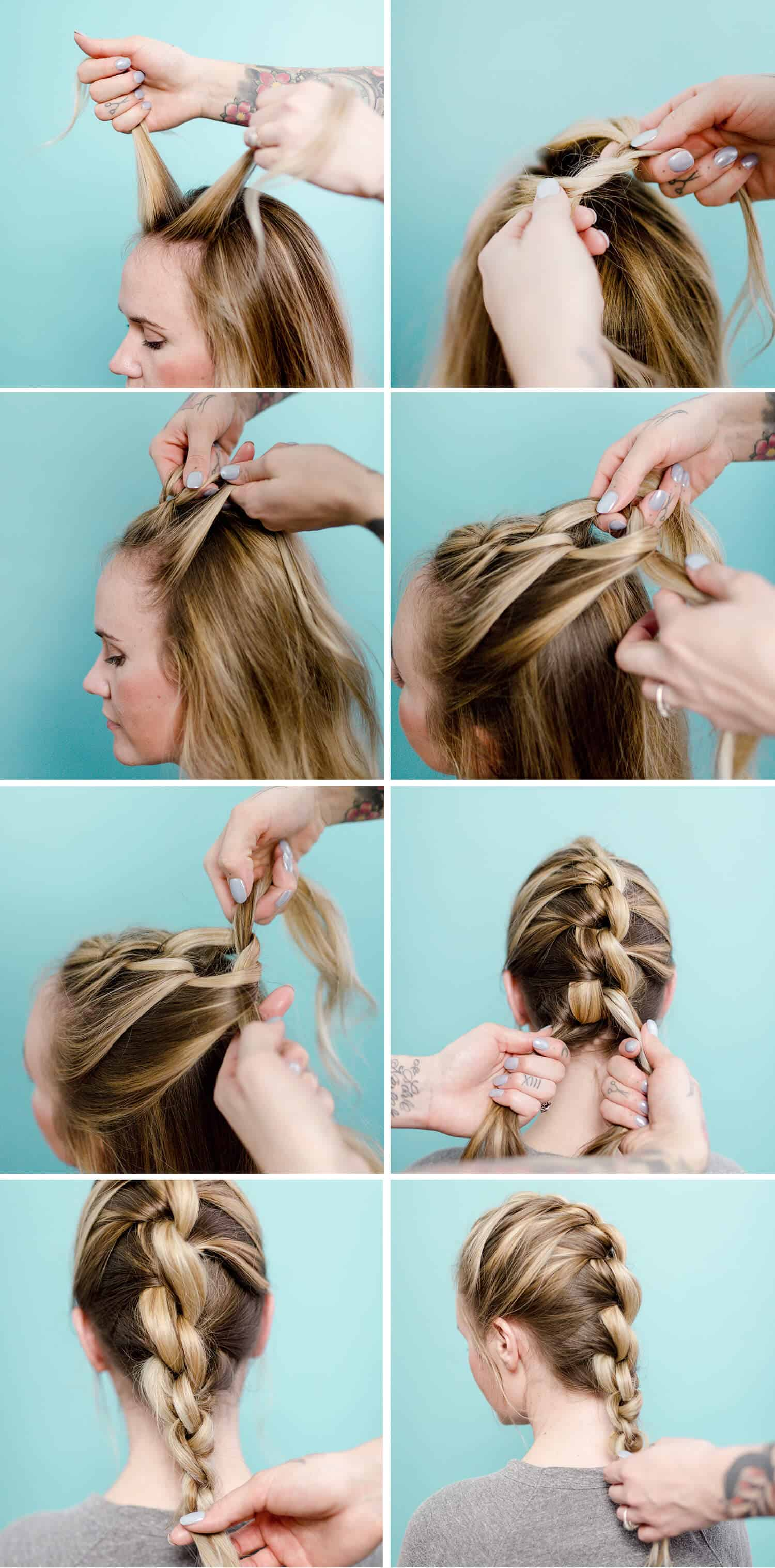 Wonder Woman Hair Style : wonder, woman, style, (Wonder, Woman, Inspired), Knotted, Braid, Beautiful