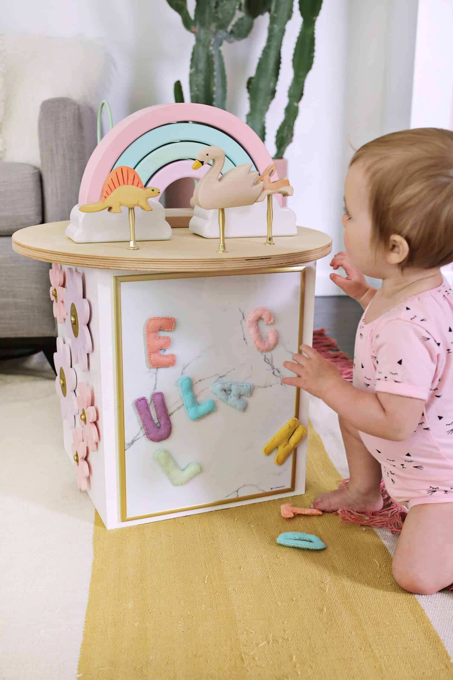 Toddler Activity Center Diy