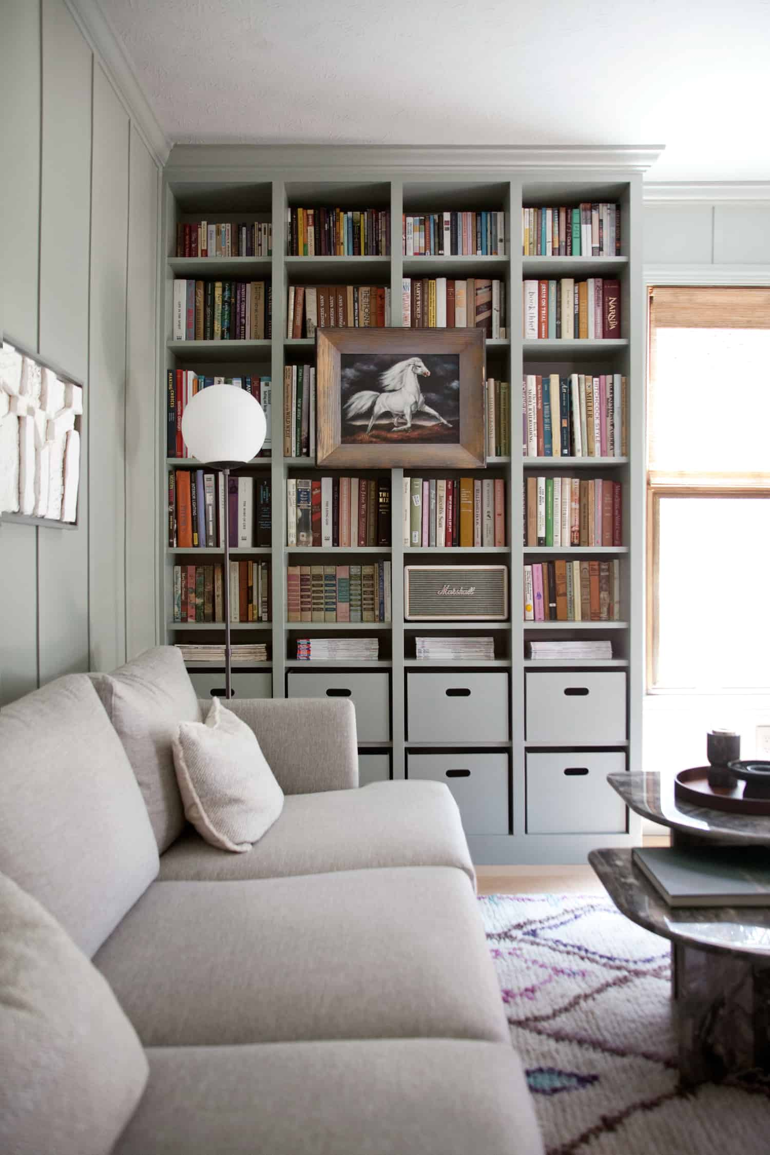 Elsies Rainbow Bookshelves  A Beautiful Mess