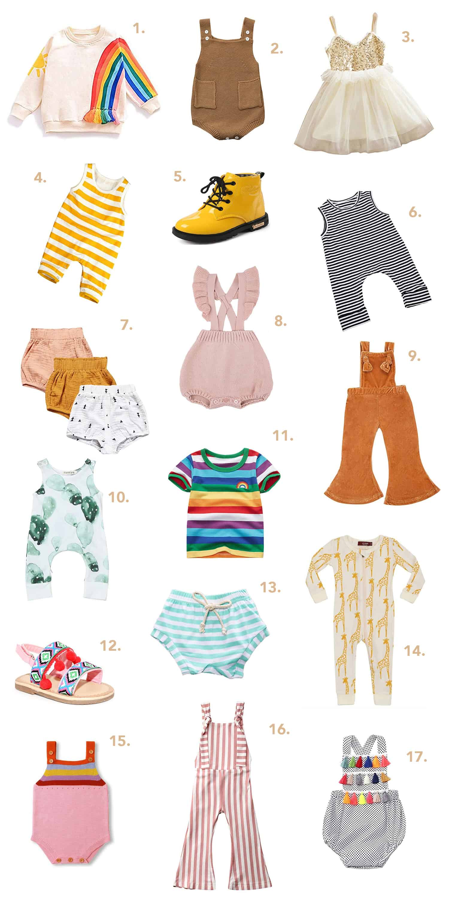 Our Favorite Kids Clothes On Amazon
