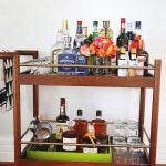 How To Stock A Bar Cart A Beautiful Mess