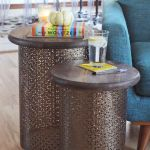 Diy Brass Side Tables A Beautiful Mess