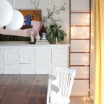 5 Ways To Style A Leaning Ladder A Beautiful Mess