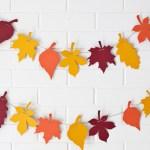 4 Easy Fall Garlands A Beautiful Mess