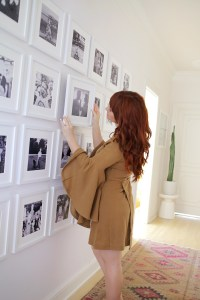 Giant Family Gallery Wall - A Beautiful Mess