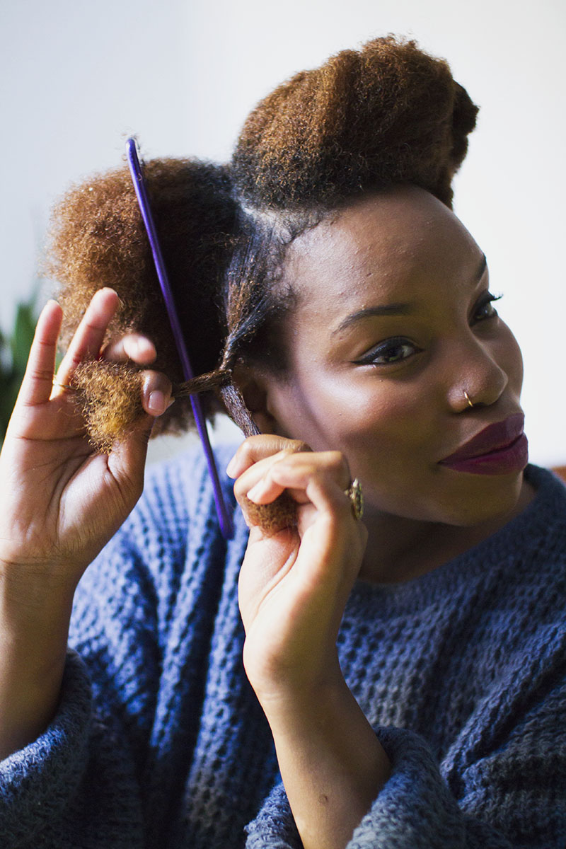 Natural Hair Two Strand Twists A Beautiful Mess