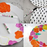 Hand Painted Dish Set A Beautiful Mess