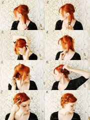 style pin curls beautiful